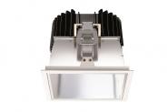 Concord Ascent 150 LED II quadrat. 28W 3500lm 840 Refl. Alu Einzelbatterie 3h Leuchte Concord - 1 Stück