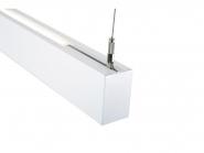 Concord Mini Continuum LED II KIT dir/indir randlos 2,4m prism 80W 840 7160lm DALI weiß Leuchte Concord - 1 Stück