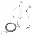 Kanlux SPN2-BRAVO6060 Stahlseilaufhängung für BRAVO6060 (doppelt)