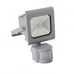 Kanlux ANTRA LED10W-NW-SE GR LED Flutlichtstrahler mit Bewegungsmelder