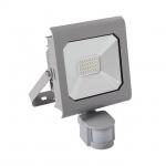 Kanlux ANTRA LED20W-NW-SE GR LED Flutlichtstrahler mit Bewegungsmelder