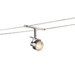 SLV SALUNA Seilleuchte für TENSEO Niedervolt-Seilsystem, QR-C51, chrom