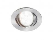 Lumiance Inset Trend Swing GU10 CDim Nickel geb. +LM LED 6W 830 36° Leuchte Lumiance - 1 Stück EEK: A+