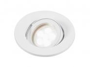 Lumiance Inset Trend Swing GU10 CDim weiss +LM LED 6W 830 36° IP44 Leuchte Lumiance - 1 Stück EEK: A+
