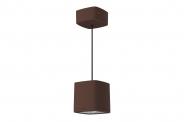 Lumiance InVerto Pendel LED 16/19W 1617/2045lm 840 40° externer Treiber rostbraun Leuchte Lumiance - 1 Stück