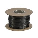 SLV NIEDERVOLT-SEIL, für TENSEO Niedervolt-Seilsystem, schwarz, 4mm², 100m
