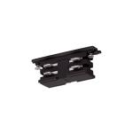 SLV LÄNGSVERBINDER für S-TRACK Hochvolt 3Phasen-Aufbauschiene, elektrisch, schwarz