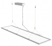 mlight LED-Panel 1200x300,  up and down, 40W, 230V, 3000K, 110°, 3720lm, 40000h, A+, nicht dimmbar, Farbe, weiss