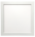 mlight LED-Einbau Panel   300x300, 24W, 230V, 3000K, 120°, 2500lm, 40000h, A+, dimmbar, Farbe, weiss