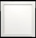 mlight LED-Einbau Panel   300x300, 24W, 230V, 3000K, 120°, 2500lm, 40000h, A+, dimmbar, Farbe, weiss