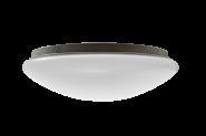 mlight LED-Deckenleuchte Ø 180mm , 8W, 230V, 3000K, 120°, 560lm, 40000h, A+, nicht dimmbar, Farbe, weiss