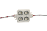 mlight LED-Module square gelb, 0, 72W, 230V, 120°, 20lm, 30000h, A , nicht dimmbar, Farbe,