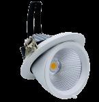 mlight LED-Shopstrahler TWIST Ra>90, 20W, 3000K, 230V