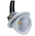 mlight LED-Shopstrahler TWIST Ra>90, 40W, 3000K, 230 V