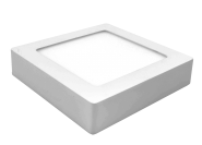 mlight LED-Ein/Unterbaupanel, 11W, 230V, 3000K, 90°, 720lm, 30000h, A+, dimmbar, Farbe, weiss