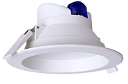 mlight LED-Downlight IP44, 14W, 230V, 3000K, 90°, 1070lm, 30000h, A+, nicht dimmbar, Farbe, weiss
