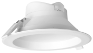 mlight LED-Downlight IP44, 17W, 230V, 3000K, 90°, 1280lm, 30000h, A+, nicht dimmbar, Farbe, weiss