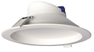mlight LED-Downlight IP44, 25W, 230V, 3000K, 90°, 2200lm, 30000h, A+, nicht dimmbar, Farbe, weiss