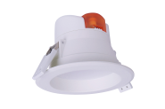 mlight LED-Downlight IP44, 7W, 230V, 4000K, 90°, 550lm, 30000h, A+, nicht dimmbar, Farbe, weiss
