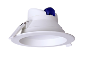 mlight LED-Downlight IP44, 14W, 230V, 4000K, 90°, 1220lm, 30000h, A+, nicht dimmbar, Farbe, weiss