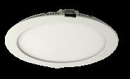 mlight LED-Panel  rund IP 44, 16W, 230V, 4000K, 110°, 1070lm, 30000h, A+, nicht dimmbar, Farbe, weiss