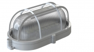 mlight LED-Ovalleuchte IP44, 9W, 230V, 4000K, 120°, 900lm, 40000h, A+, nicht dimmbar, Farbe, weiss