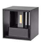mlight LED outdoor wall light CUBE , 6W, 230V, 3000K, 0-120°, 500lm, 50000h, A+, not dimmable, color, anthracite
