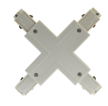mlight 3 Phasen-X-Verbinder, Farbe, weiss
