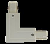 mlight 3 Phasen-L-Verbinder links, Farbe, weiss