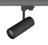 mlight LED-Schienenstrahler SPOT , 10W, 230V, 3000K, 24°, 1000lm, 50000h, A+, nicht dimmbar, Farbe, schwarz