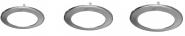 mlight Deko Ring,chrom-matt