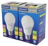 Megaman MM LED 2er-Pack Classic A60 9,5W-810lm-E27/828