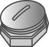 Megaman MM DINO2 Blindverschluss für Installationskupplung