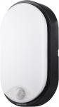 Megatron  BULKA mit PIR Sensor oval IP54 10W-700lm/840