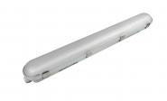 mlight LED-Feuchtraumleuchte IP 65 2 flammig, 48W, 230V, 4000K,120°, 7200lm, 50000h,A+, nicht dimmbar, Farbe, grau