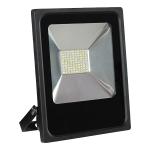 DMLUX SMD Led Flutlichtstrahler 50W 4000K 3750Lm, CRI>70 schwarz IP65