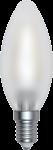 SkyLighting Filament LED Kerze matt E14 4W 6400K