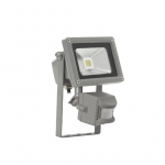 Kanlux MONDO MCOB-10-GR SE LED MCOB Flutlichtstrahler mit Bewegungsmelder