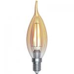 i-Light LED Filament Kerze Flamme E14 4W 2200K, Gold