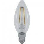 i-Light LED Filament Kerze E14 2W 6400K