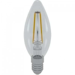 i-Light LED Filament Kerze E14 4W 6400K