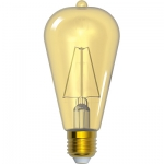 i-Light LED Filament ST64 Old Fashion E27 6W 2200K, Gold
