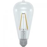 i-Light LED Filament ST64 E27 6W 3000K