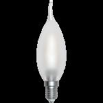 SkyLighting Filament LED Kerze Windstoß matt E14 220V 2W 4200K