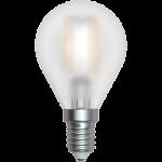 SkyLighting Filament LED Tropfenlampe matt E14 4W 3000K