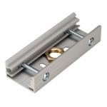 SLV EUTRAC Stoßstellenverbinder für 3 Phasen Stromschiene, silbergrau
