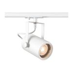 SLV EURO SPOT Spot für Hochvolt-Stromschiene 1Phasen, QPAR51, weiß, max. 25W, inkl. 1Phasen-Adapter