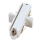 SLV Längsverbinder für 1 Phasen Stromschiene, weiß, Elektrisch