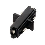 SLV Längsverbinder für 1Phasen Stromschiene, schwarz, Elektrisch