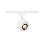 SLV TOTHEE, Strahler für SLV D-TRACK 2 Phasen Stromschiene LED, 3000K, weiß, 15°, inkl. 2 Phasen Adapter
